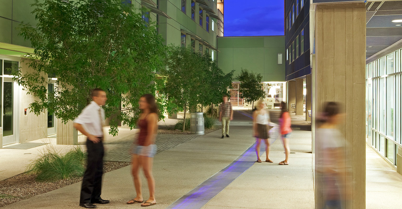 Sixth Street Residence Halls, University of Arizona