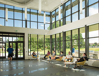 Yellowstone Hall, Montana State University, Link to article: Yellowstone Hall Earns LEED Gold Certification