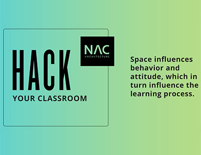 Hack Your Classroom logo, Link to article: Hack Your Classroom - We want to promote excellence in teaching and classroom design
