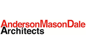 Anderson Mason Dale Architects logo, link to website
