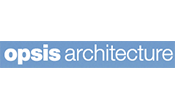 opsis architecture logo, link to website