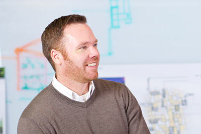 Link to more information about Rob Kuffel, AIA, LEED AP, Associate Principal