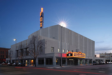 Martin Woldson Theater at the Fox, Link to project page
