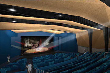 Saugus High School Auditorium, Link to project page