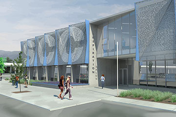 Spokane Community College Main Building, Link to project page