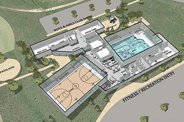 Youth and Family Recreation Center, Link to project page
