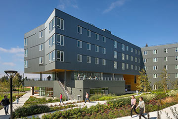 Link to Bellevue College Residence Hall project page