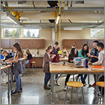 Link to larger image classroom, kids at tables