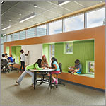 multipurpose room, large windows, link to larger image