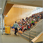 students on learning stair, link to larger image